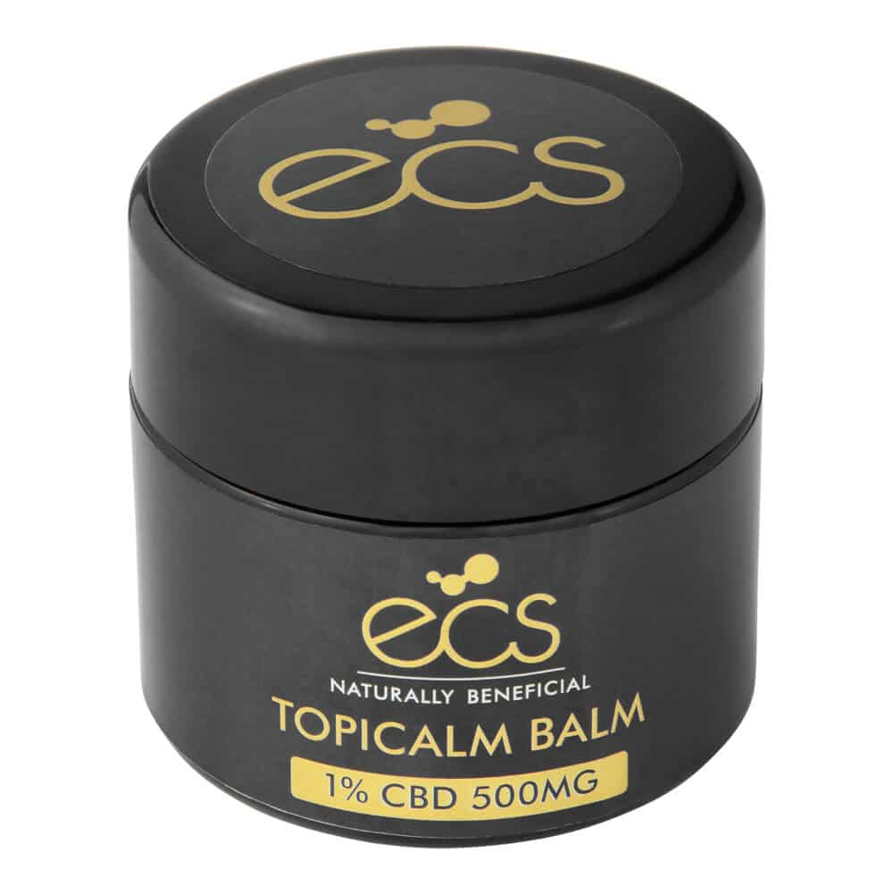 ECS topical CBD balm