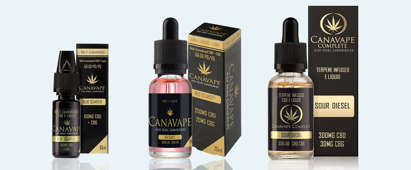 CBD E-Liquid with CBG