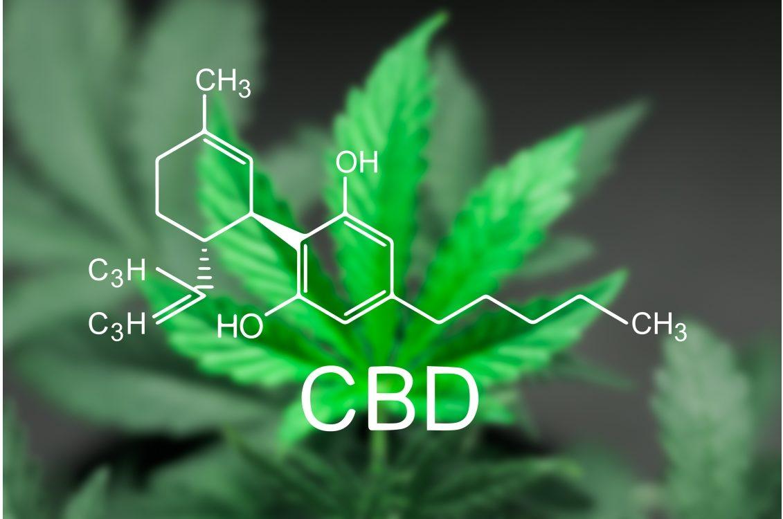 CBD compound structure