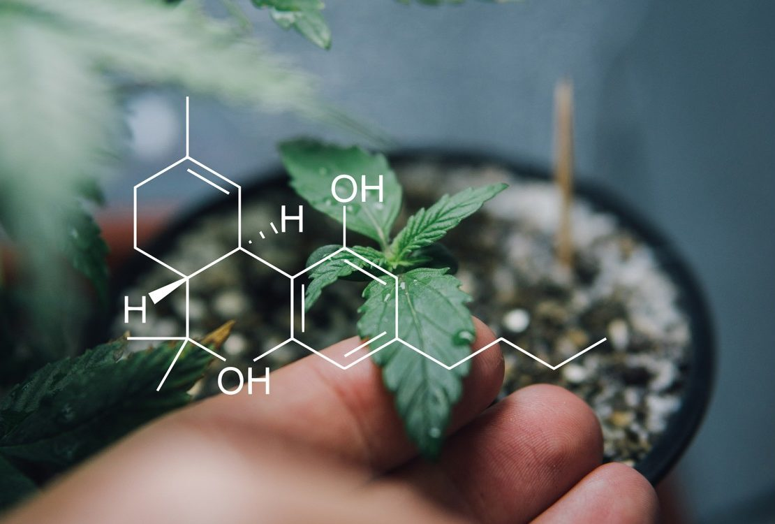 Marijuana compound structure