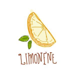 Cannabis Marijuana Limonene icon with text
